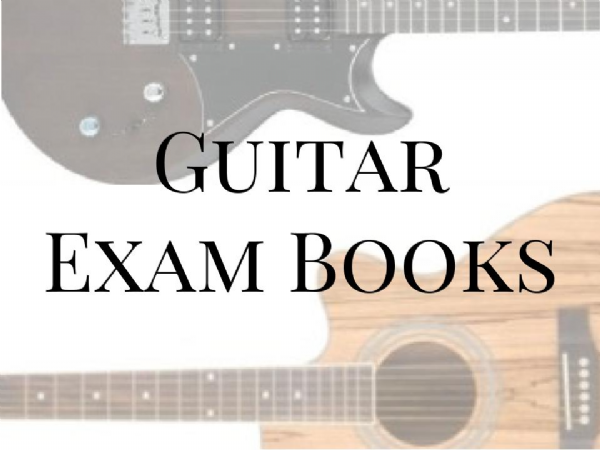 Guitar Exam Books